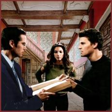 Scene 121: Wesley, Angel, and Cordelia