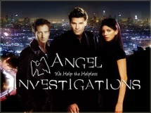 Angel Investigations: Angel, Cordelia, & Doyle (Art by Lysa Whitmore)