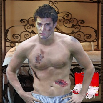 Angel_First Aid Shirtless