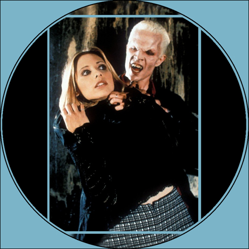 Buffy and Spike_Fangs