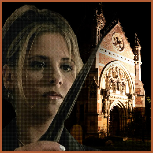 Buffy at Holly Cross_500x500