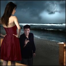 Scene 157: Cordelia and Angel
