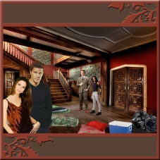 Scene 105: Angel, Cordelia, Giles and Faith at the Mansion