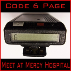 Scene 159: Code 6 Page (Come to the Hospital...Stat)