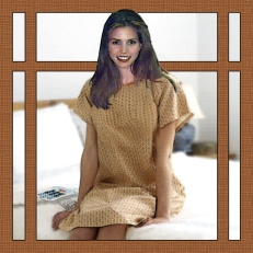 Scene 50: Cordelia Chase in Hospital Couture