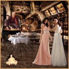 Scene 73: Cordelia, Dru, Spike, and Miss Edith at the Factory