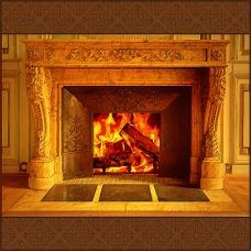 Scene 130: Fireplace