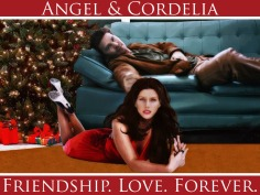 Friendship. Love. Forever. (Cordelia/Angel Art by Lysa Whitmore)