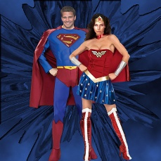 Halloween at the Hyperion - SuperAngel and WonderCordy