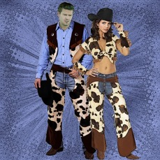 Halloween at the Hyperion - Cowboys and Cowgirls