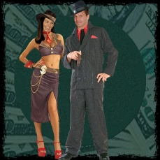 Halloween at the Hyperion - Gangster High Rollers