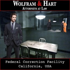 Scene 141: Jake Devries at the Federal Correctional Facility with Harry Sims