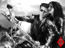 Cool Rider B/W - Angel/CC Manip by Lysa Whitmore