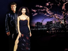 Night on the Town - 2 (Cordelia/Angel Art by Lysa Whitmore)