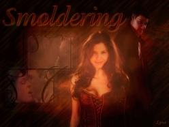 Smoldering (Cordelia/Angel Art by Lysa Whitmore)