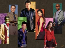 Angel the Series Characters (Art by Lysa Whitmore)