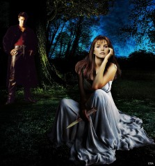 The Bait - C/Aus (Cordelia/Angelus Art by Lysa Whitmore)