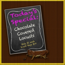 Scene 55: Today's Special - Chocolate Covered Locusts